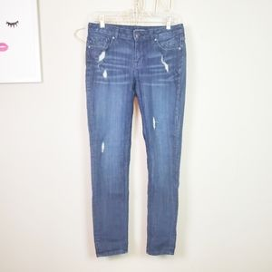 4for$25 Vigoss The Chelsea Skinny Distressed Denim